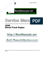 Caterpillar 3208 Diesel Engine SM Manual Copy One