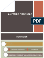 Anemias Crónicas