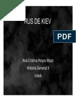 Unidad 4 Rus de Kiev - Ana Cristina Hoyos Mazo