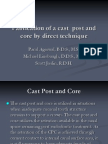 Cast Post & Core