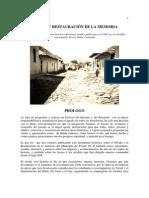 Rese a Hist Rica de Teruel Olvido y Restauraci n de La Memoria