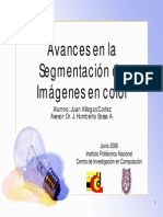 Avances Segmentacion Color Seminario