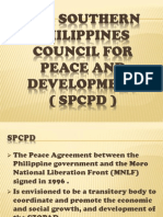 The Southern Philippines Council for Peace and Development