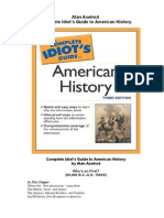 Alan Axelrod - Complete Idiot's Guide to American History