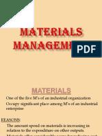 Group 1 Materials Management