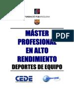 FLEXIBILIDAD Master Alto Rendimiento 3 -Moze