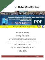 Workshop Alpha Mind Control