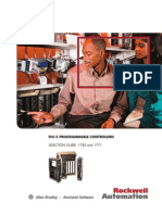 Plc-5 Programmable Controllers Selection Guide 1785 and 1771