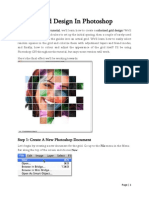 Color Grid Design in Photoshop