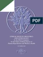 Recomendaciones de Etica en GyO_FIGO_2009