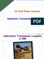 Hydraulics power System