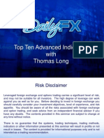 Top Ten Advanced Indicators With Tom Long TomLong