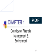 Chapter 1 Overview and Financial Environment