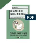 174950540 El Conflicto Palestino Israeli Brieger Pedro PDF