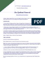 Questions regarding The Qadiani Funeral