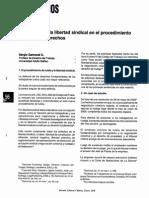 Sergio Gamonal - La Eficacia de La Libertad Sindical en El Procedimiento de Tutela de Derechos