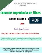 Servicos Mineiros II Aula 2 2013