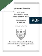 Web Project Proposal