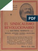 Manuel Antonio Guerra - El Sindicalismo Revolucionario y Su Doctrina Marxista