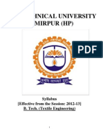 HIMTU Syllabus B.TECH
