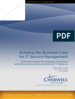 Build a Business Case for Itsm