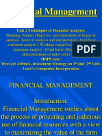 Ch.2 Techniques of Financial Analysis
