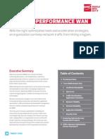 CDW WAN Optimization Whitepaper