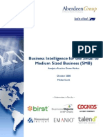 1-19397 Business Intelligence for the Small to Medium Sized Business