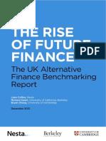 The Rise of Future Finance UK 2013