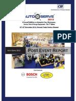 AutoServe 2012 Post Event Report 2