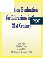 Collection Evaluation for Librarians