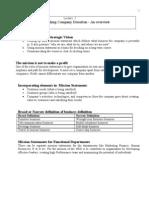 Establishing Company Direction - Lecture 2