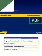 Agentes de Geração - Fev.2010