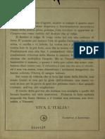 Volantino a Stampa Lanciato Da Gabriele d'Annunzio Durante Il Volo Su Vienna Del 9 Agosto 1918