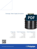 Drainage, Water Supply & Insulation
