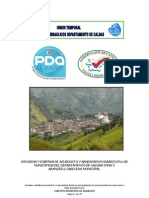 Estudio y Diseño Acueducto y Saneamiento Basico Aranzazu Caldas