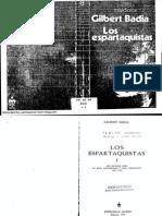 Gilbert Badía, Los Espartaquistas, Vol. I