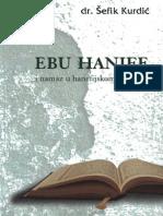 Ebu Hanife i Namaz u Hanefijskom Mezhebu Sefik Kurdic