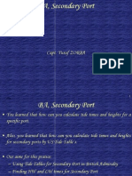 YZ-TIDE BA, Secondary Port.ppt