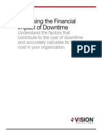 Assessing the Financial Impact of Downtime