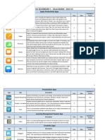 ipad profile - english sector - 2014-15 apps to install