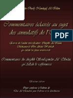 Annulatifs de l'Islam Par Sheikh Uleyman Olwan