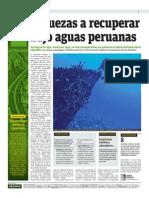 Riquezas a Recuperar Bajo Aguas Peruanas