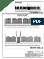 A31_Desfasurata Gard Inainte de Reconditionare_A3x2alb-Negru