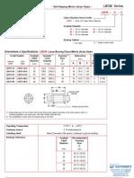 Lintech Metric Components Specheet