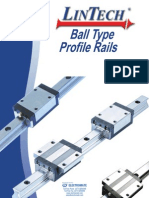 LinTech ARC HRC Profile Rail Specsheet