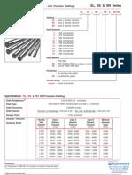 LinTech Round Rail Shafting Specsheet