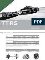 40 TTRS Coupe TTRS Roadster Tarifs 20110428