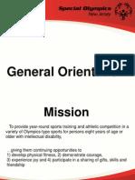SONJ General Orientation