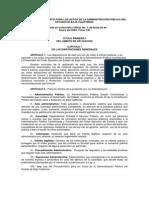Ley Del Procedimiento Para Los Actos de La Administracion Publica Del Estado de Baja California